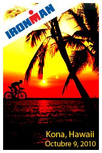 Ironman Hawaii en directo.