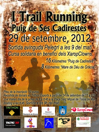 I Trail Running Puig de Cadiretes.