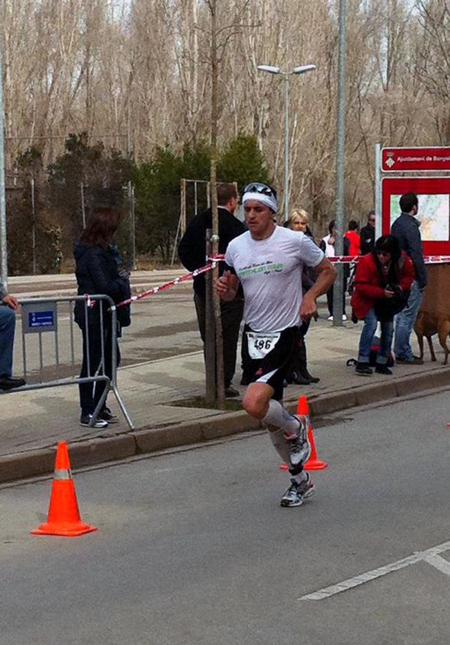 Media maratón de Banyoles.