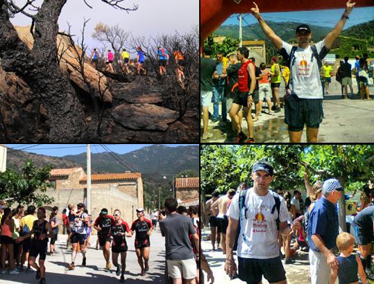 Carrera de 21km de montaña en Cantallops.